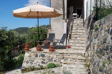 Casa di campagna con splendida vista e Giardino - Sasseta - Apartment
