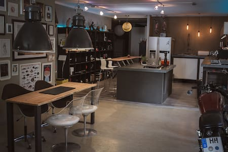 LOFT/STUDIO in Bahrenfeld - Hamburg - Loft