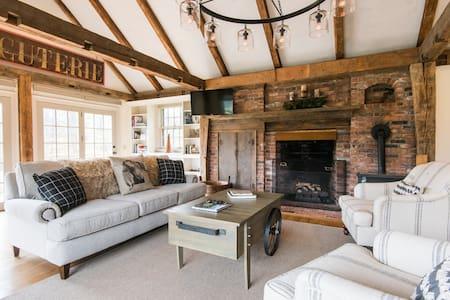 Ginny's House - A big house with a pond and an Inn - Newfane - Casa