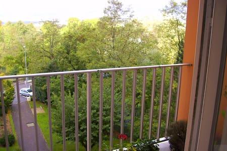 Chambre 2 lits au centre de Dijon - Apartment