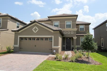 ChampionsGate - Pool Home 5BD/4.5BA - Sleeps 14 - Platinum - RCG540 - Villa