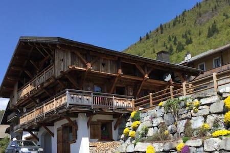 Chambre indépendante avec douche et wc - Montriond - Alpehytte