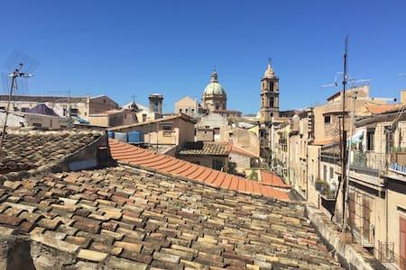 attico moderno nel cuore di Palermo - Lejlighed