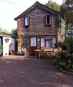Garden Cottage in the pretty village of Icklingham - Icklingham.   Bury St Edmunds - Huis