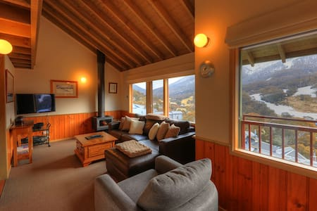 Banjo 4 Townhouse 2 Bed with Loft - Thredbo - Appartement