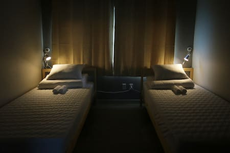 Flat Guest House : Twin Room (2Bed) - Jung-gu - Guesthouse