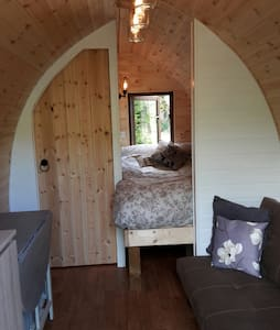 Wooden Pod at Coastal Valley Camp and Crafts - Cornwall - Stuga