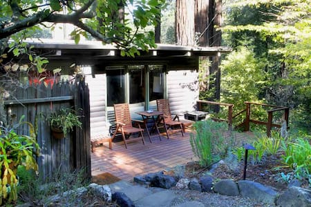 TREETOP CABIN Redwoods, Hot Tub