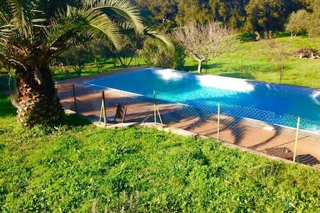 maisonette avec piscine entre mer et montagne - Sartène - Talo