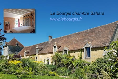 Le Bourgis chambre Sahara - Bed & Breakfast