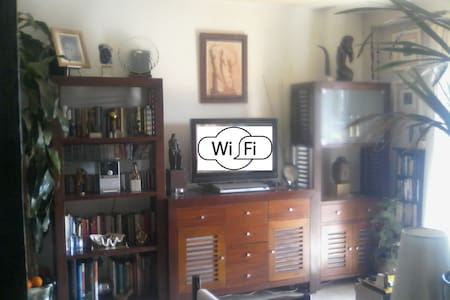 Apart. 2 Room 3 People +WiFi +A/A +Good Comunicat. - San Juan de Aznalfarache