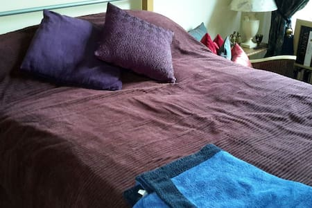 Double bed in quiet apartment - Glasgow - Apartment