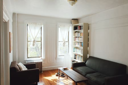 This newly remodeled 1BR apartment is ideal for a single visitor or couple looking for an affordable and quiet stay in Brooklyn.  A four minute walk to the subway, three blocks from Prospect Park, the Brooklyn Museum and Botanic Garden.