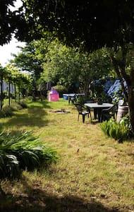 Alquilo habitaciones en casa grande con jardin - Casa