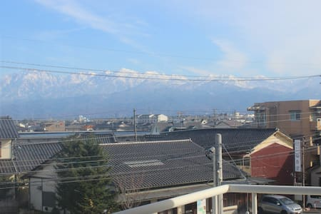 3LDK Room with Tateyama mt. view! - Appartement