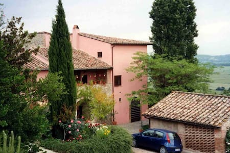 Gourmet kitchen, breathtaking rural views - Magione - Appartement