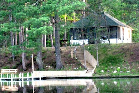 Angler's Cozy Cottage/Manitowish Chain of 10 Lakes - Manitowish Waters - Srub