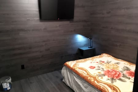 Private Bedroom: Double bed and TV - Waterloo - Apartment