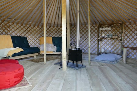 Wych elm yurts (green yurt) - Yourte