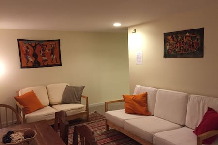 Cozy Apt near PHL Airport + Parking - Tinicum Township