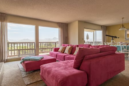 Incredible Bay Views from Top Floor Duplex - Baywood-Los Osos