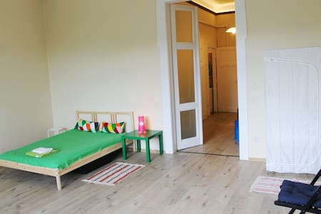 Big 1-room apartment close to most central area - Huoneisto