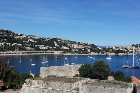 Tranquil and Unique apartment in Villefranche - Villefranche-sur-Mer - Wohnung