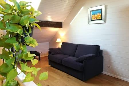 Chambre spacieuse avec mezzanine - Triplex - Montreuil