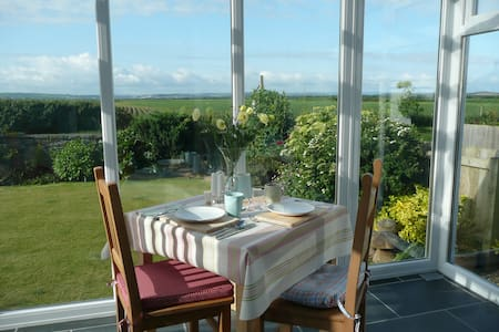 Fabulous views of The Burrows in Beach style home - Braunton