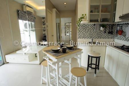 2BR Bright & Sunny, 50m2 apartment in Thamrin City - Tanah Abang