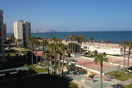 Relaxing cozy apartment next to the beach Alicante - Wohnung