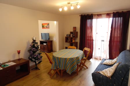 Apartment with 3  comfortable rooms and parking - Carcassonne - Daire