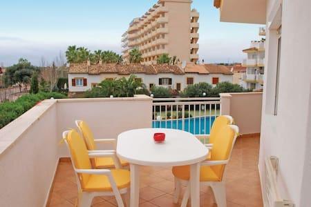Apartamento con vistas al mar piscina  y montaña - Apartment