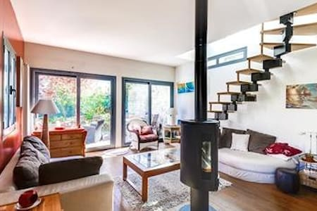 Très agréable maison, centre. Paris 20mn - Villennes-sur-Seine - Dům