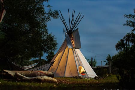 Rustic Luxury in a Tipi - Tipi