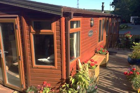 Pool sauna gym in Devon Moor & Sea - Chalet