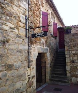 Donjon du 12ème siècle - Vinezac - Şato