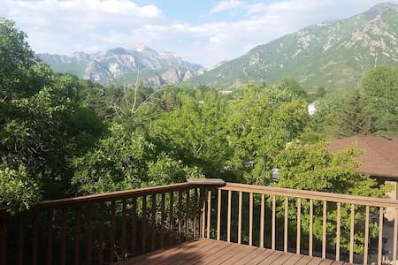 Mountain SUITE, Views, Private,  Sking/Hiking! - Sandy - Casa