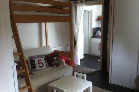 Studio 3 couchages en RDC dans maison familiale - Conflans-Sainte-Honorine