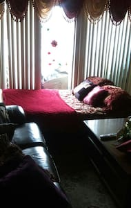 Luxurious full size futon - Flat