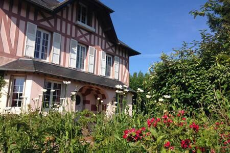 Domaine du Clos Joli - Chambre 2 personnes - Saint-Gatien-des-Bois