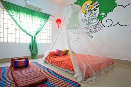 Chill-out room,Home stay - Kokchok, Siem Reap, Siemreab-Otdar Meanchey,  - Huis