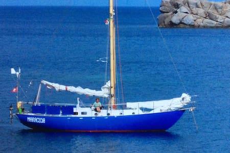 Segelschiff als Unterkunft - Boat