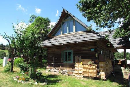 Nasza Polana - drewniana chata w Beskidzie Niskim - Apartamento