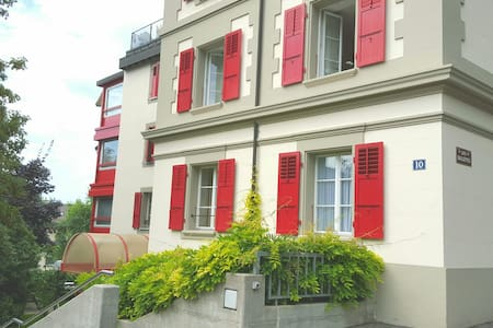 Apartment+parking, quiet, transport to city center - Pully - Wohnung