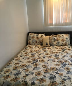 New Queen sized bed - San Leandro - Apartamento