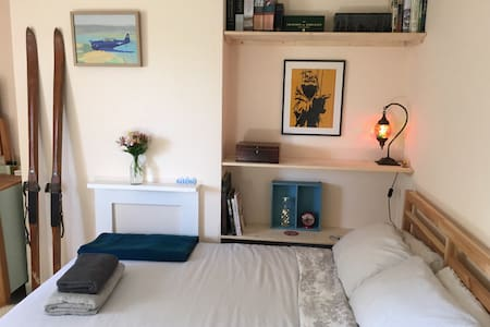 Private double bedroom in SDNP - West Sussex - Huis