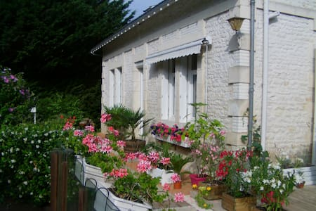 Chambre d'Hôte proche Royan, 2 plac - Épargnes - Huis