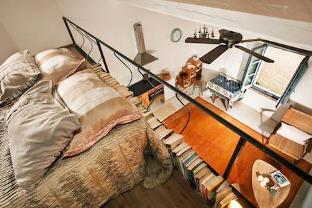 Sunny, newly-restored, studio loft - Villa