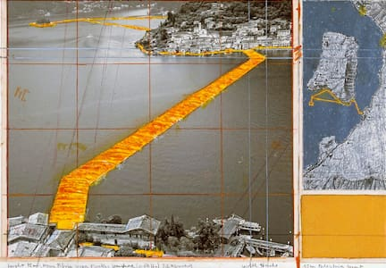 camere - lago d'Iseo - Christo - House